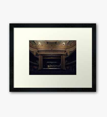 Ballarat Theatre Framed Print