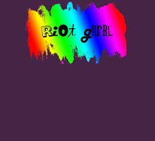 Rainbow Riot Womens Fitted T-Shirt