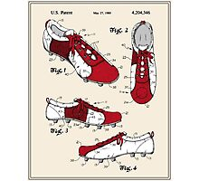 Football (Soccer) Cleat Patent - Colour Photographic Print
