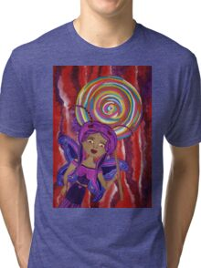 Aubrey Agaricwitch Fairy Tri-blend T-Shirt