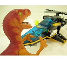 Velociraptor Attack! Photographic Print