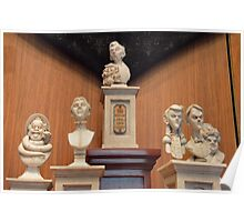 Disney Haunted Mansion Busts Disney Singing Busts Poster