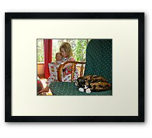 """Me and My Doll"" #2 Framed Print"