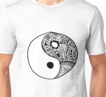 Hippie Yin-Yang Design Unisex T-Shirt