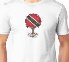 Tree of Life with Trinidadian Flag Unisex T-Shirt