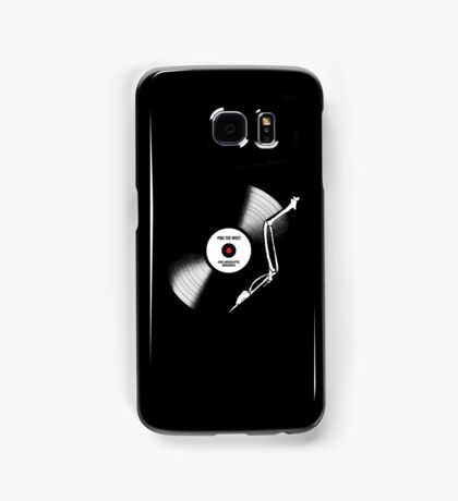 post-apocalyptic birdsongs in 33 rpm Samsung Galaxy Case/Skin