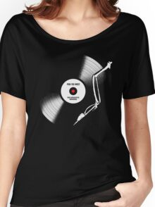 post-apocalyptic birdsongs in 33 rpm Women's Relaxed Fit T-Shirt