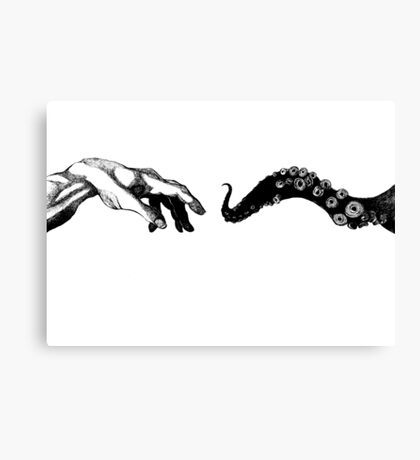 The Creation of Octopii Canvas Print