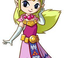 Princess Zelda by nakeciawinona