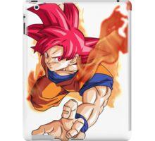 Super Saiyan God Goku iPad Case/Skin
