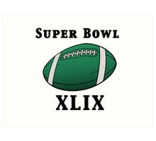 Super Bowl! Art Print