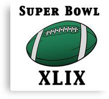 Super Bowl! Canvas Print