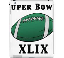 Super Bowl! iPad Case/Skin