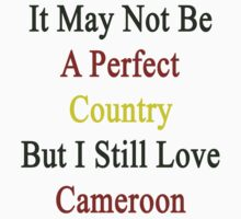It May Not Be A Perfect Country But I Still Love Cameroon  by supernova23