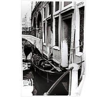 Gondola Waiting Poster