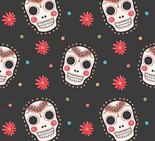 The Sugar Skull Pattern by haidishabrina