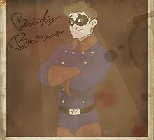 Old photo of Bucky by Oona Oceana