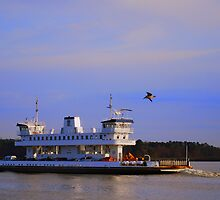 Jamestown/Scottland Ferry (The Pocohantas) by madman4