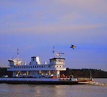 Jamestown/Scottland Ferry (The Pocohantas) by madman4