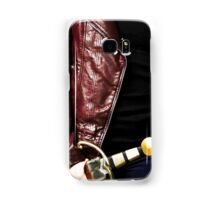 Emma's brown leather jacket phone case Samsung Galaxy Case/Skin