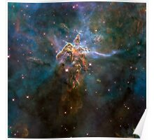 Hubble Space Telescope Print 0022 - Wide View of 'Mystic Mountain'  - hs-2010-13-e-full_jpg Poster