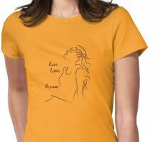 Summer girl Womens Fitted T-Shirt