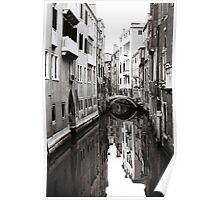 Canal Reflections Poster