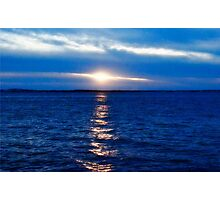 Glorious Splendor of Sunset Photographic Print