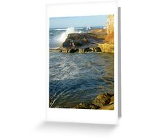 'Coastline - Avoca Beach' Greeting Card