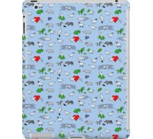 Unicorn and Friends Awesome Pattern iPad Case/Skin