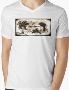 Dolphin Dreams Mens V-Neck T-Shirt