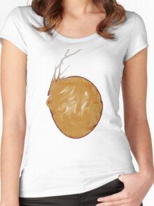 Whitely Dot Women's Fitted Scoop T-Shirt