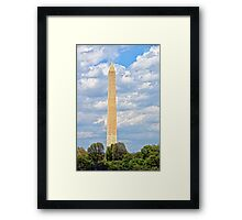 Monolithic Honor to Our Founding Father Framed Print