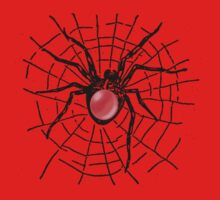 RedBubble Spider Tee by Sharon Stevens