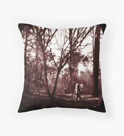 Fae Whispers ii Throw Pillow