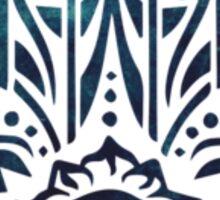 Blue Fatima Hand Hamsa  Sticker