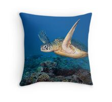 Icon of the Reef Throw Pillow