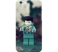 ::: { THE ZOMBIE } ::: iPhone Case/Skin