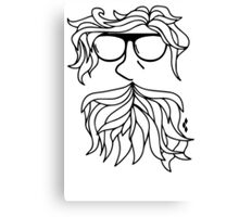 Harry the Hipster Canvas Print