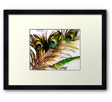 WHO Framed Print