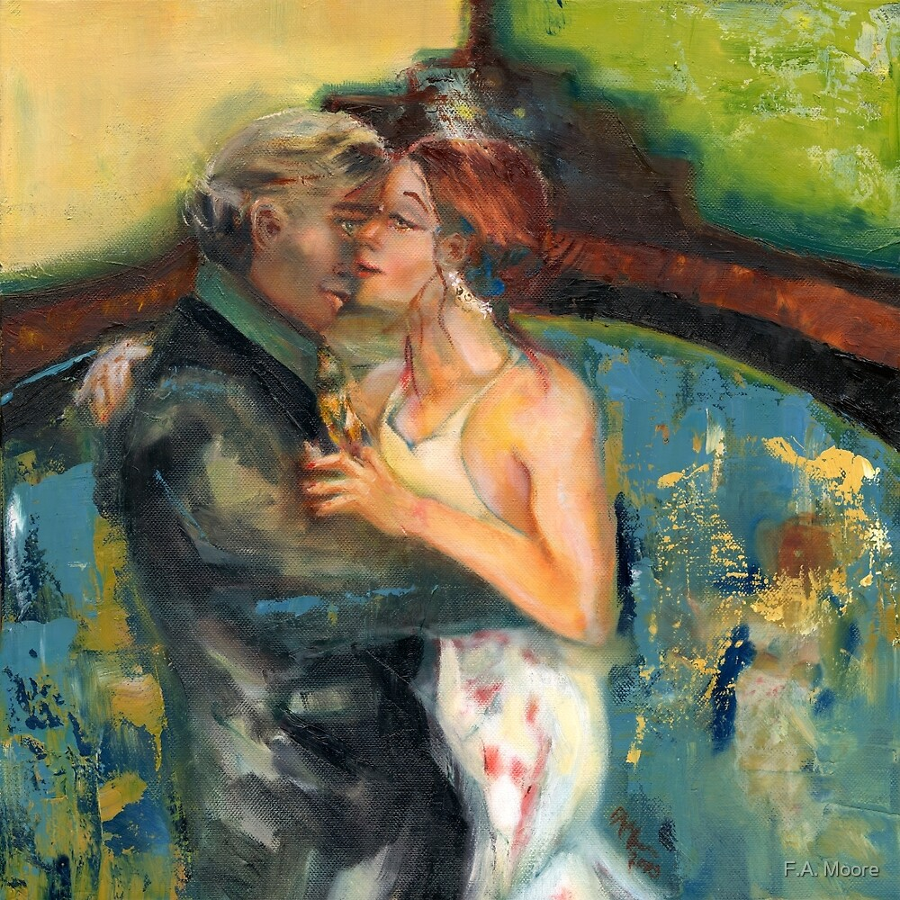 You and Me, Babe, @ the Tango Club by F.A. Moore
