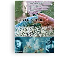 Ever After Movie Poster (made by deb) Canvas Print