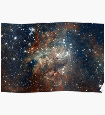 Hubble Space Telescope Print 0027 - Hubble Images 30 Doradus NGC 2060  - hs-2012-01-e-full_jpg Poster