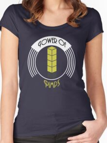 Tower of Pimps Women's Fitted Scoop T-Shirt