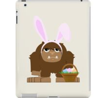 Cute Easter Bigfoot iPad Case/Skin