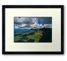 Tweed Caldera Framed Print
