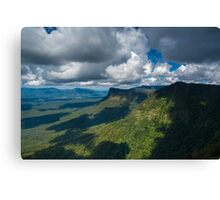 Tweed Caldera Canvas Print