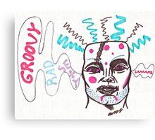 "Adam Ant's ""Strip"" plays  Canvas Print"