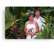 Key West Weddings Canvas Print