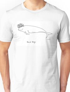 Broccoli Beluga Unisex T-Shirt